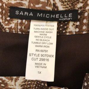 Sara Michelle Tops - Sara Michelle Short Sleeved Blouse
